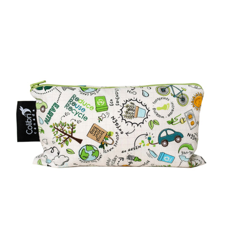 8115 Recycle Reusable Snack Bag - Medium