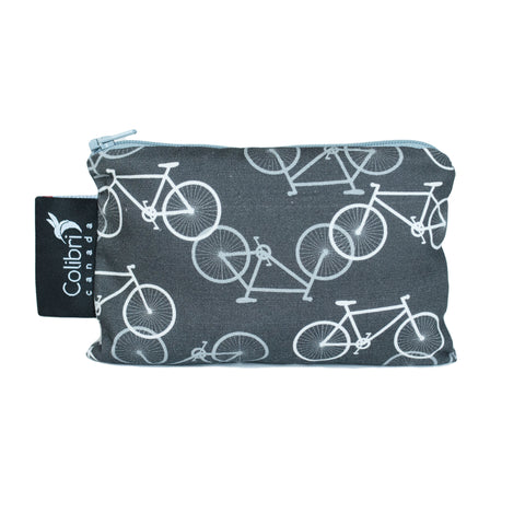 Bikes Reusable Snack Bag - Small