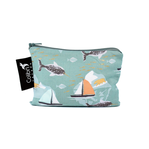 Narwhal - Reusable Snack Bag - Small