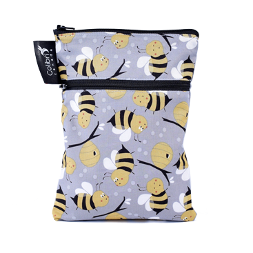 Bumble Bee - Mini Double Duty Wet Bag
