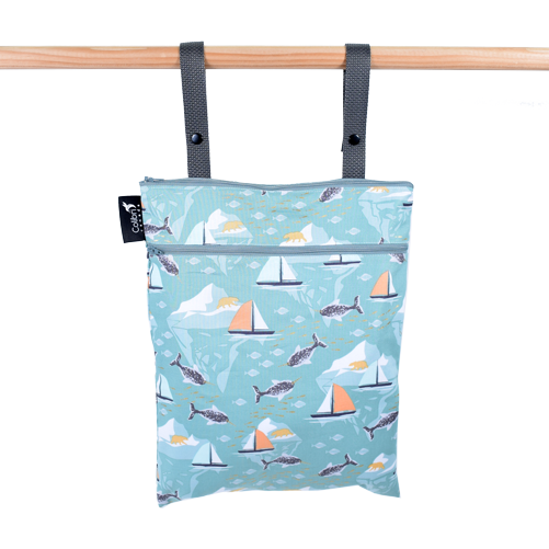 Narwhal - Double Duty Wet Bag