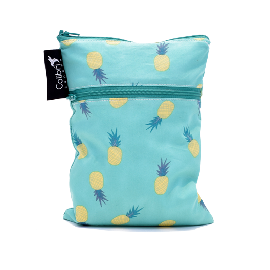 Pineapple - Mini Double Duty Wet Bag