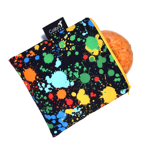 Splatter - Reusable Snack Bag - Large