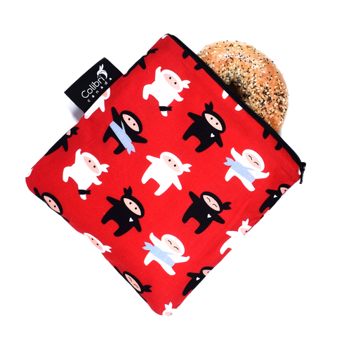 Ninja - Reusable Snack Bag - Large
