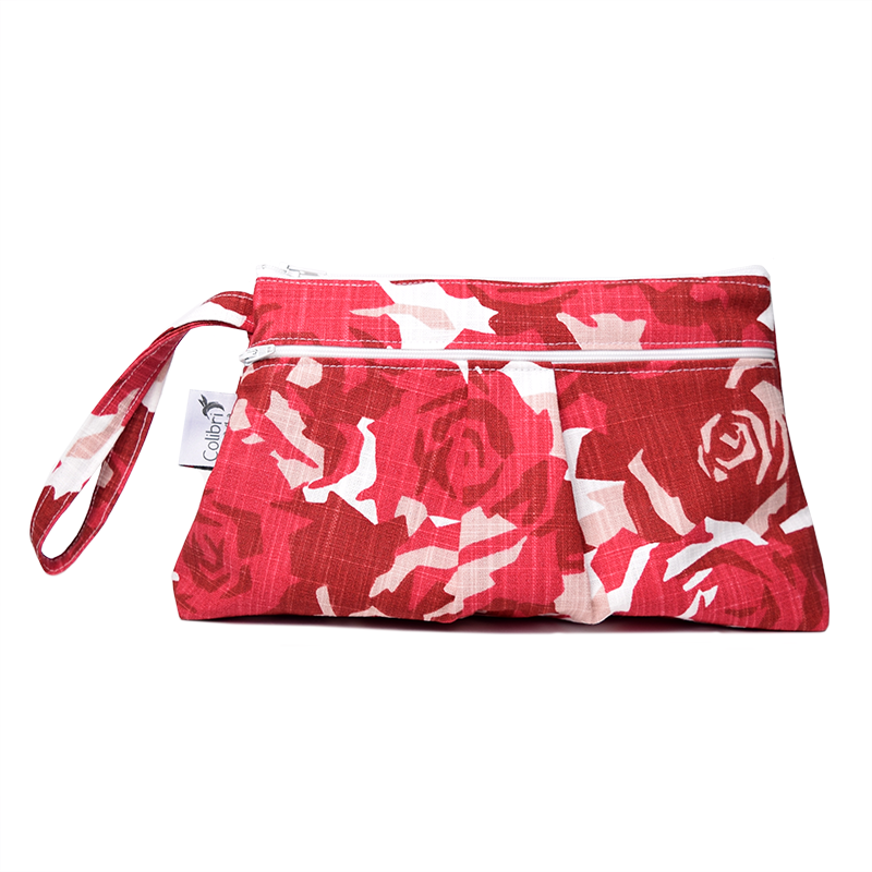 Grab and Go Clutch - Roses