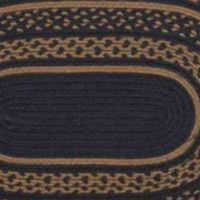 Patriot Navy Braided Jute Rugs