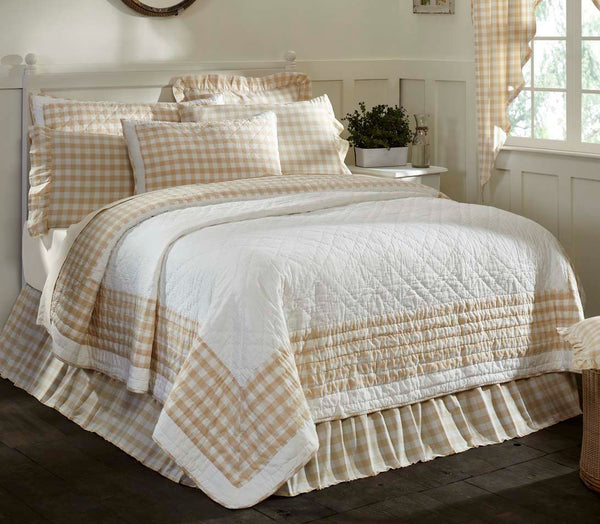 Annie Buffalo Tan Check Bedding Collection