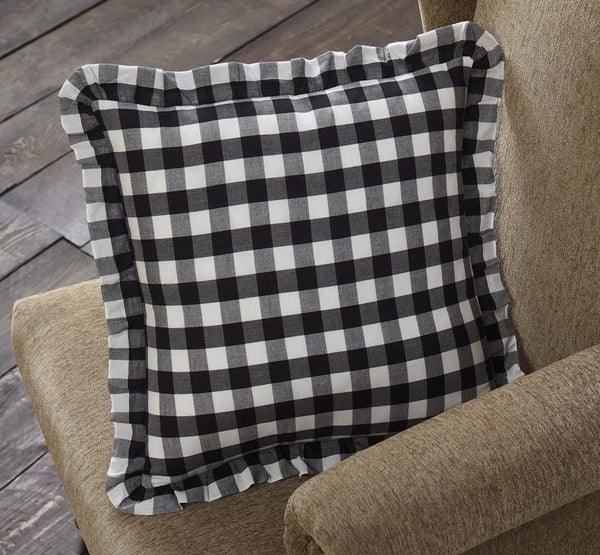 Annie Buffalo Black Check Pillows