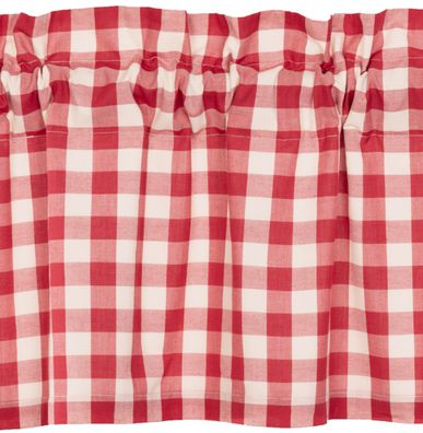 Annie Buffalo Red Check Window Treatments