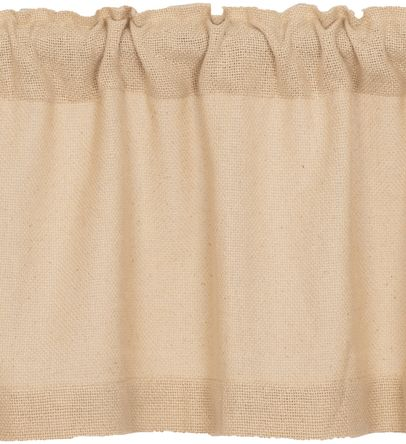 Burlap Vintage Window Treatments