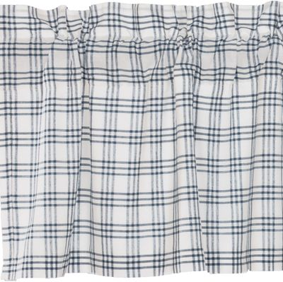Sawyer Mill Blue Plaid Window Treatments