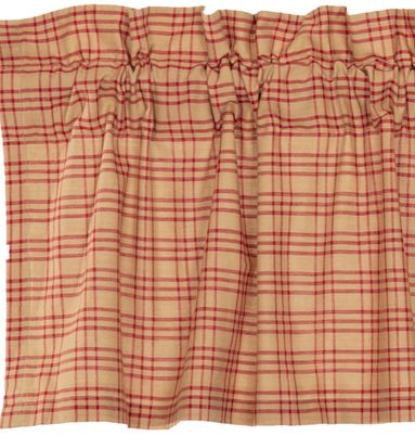 Sawyer Mill Red Plaid Window Treatments