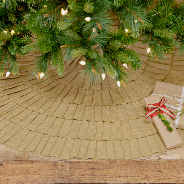 Festive Natural Burlap Christmas Collection