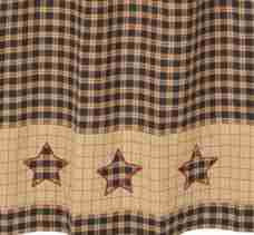 Bingham Star Shower Curtain