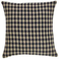 Black Check Pillows