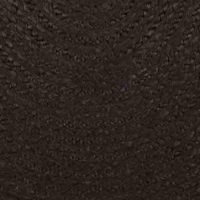 Black Braided Jute Rug