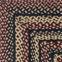 Blackberry Braided Jute Rug Collection
