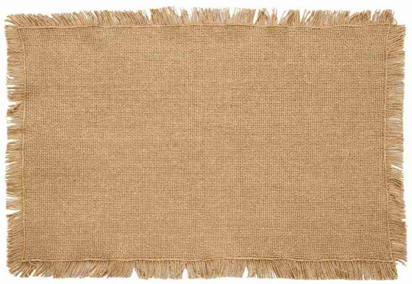 Burlap Natural Table Collection
