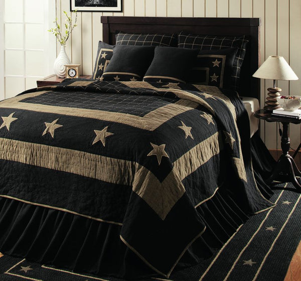 Burlap Star Black Collection