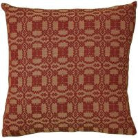 Campbell Wine Woven Pillow