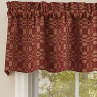 Campbell Wine Woven Window Treatments