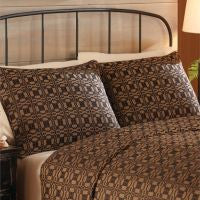 Campbell Black Woven Coverlet Collection