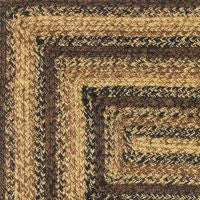 Cappuccino Braided Jute Rug Collection