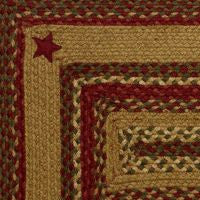 Cinnamon Star Braided Jute Rugs