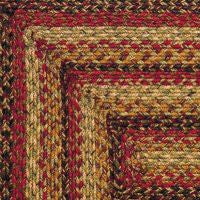 Ginger Braided Jute Rugs