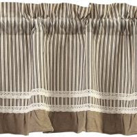 Kendra Stripe Black Window Treatments