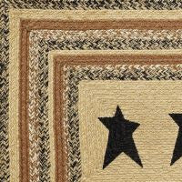 Kettle Grove Stencilled Braided Jute Rug Collection