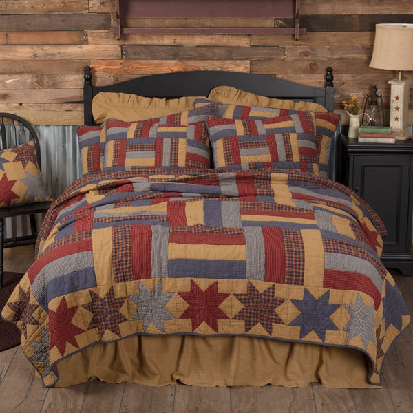 Kindred Stars and Bars Bedding Collection