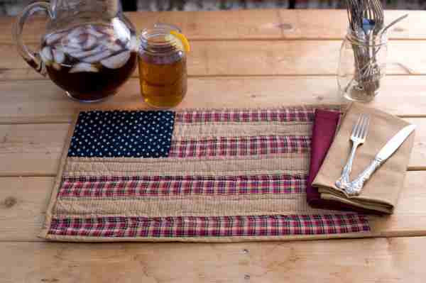 Patriotic Patch Table Collection