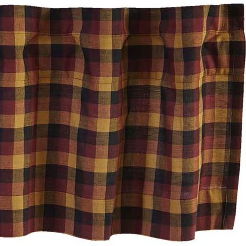 Primitive Check Window Treatments