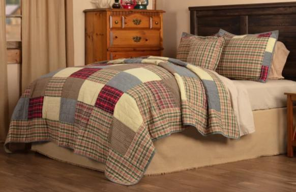 Rustic Plaid Bedding Collection