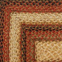 Russett Braided Jute Rug Collection