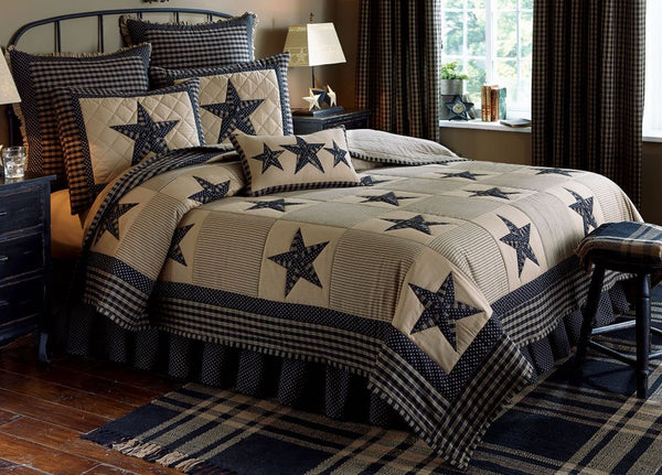 Sturbridge Patch Black Bedding Collection
