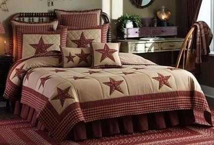 Sturbridge Patch Wine Bedding Collection