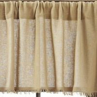 Tobacco Cloth Khaki Window Treatments