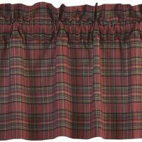 Tartan Red Plaid Window Treatments