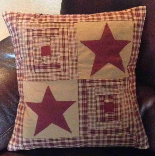 Vintage Star Wine Pillows