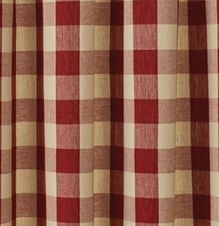 Wicklow Garnet Shower Curtain