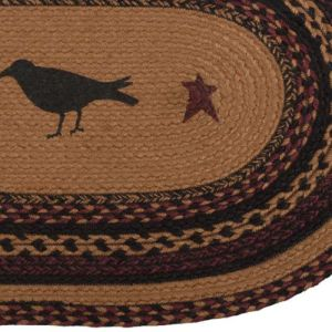 Heritage Farms Braided Jute Rug Collection