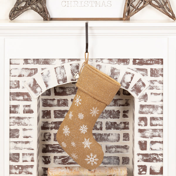 Snowflake Burlap Collection