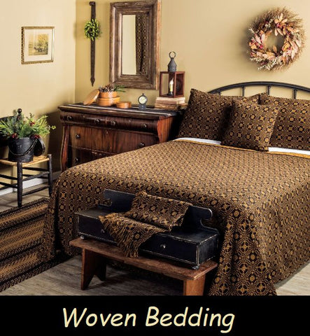 Coming Soon!  New Woven Coverlets