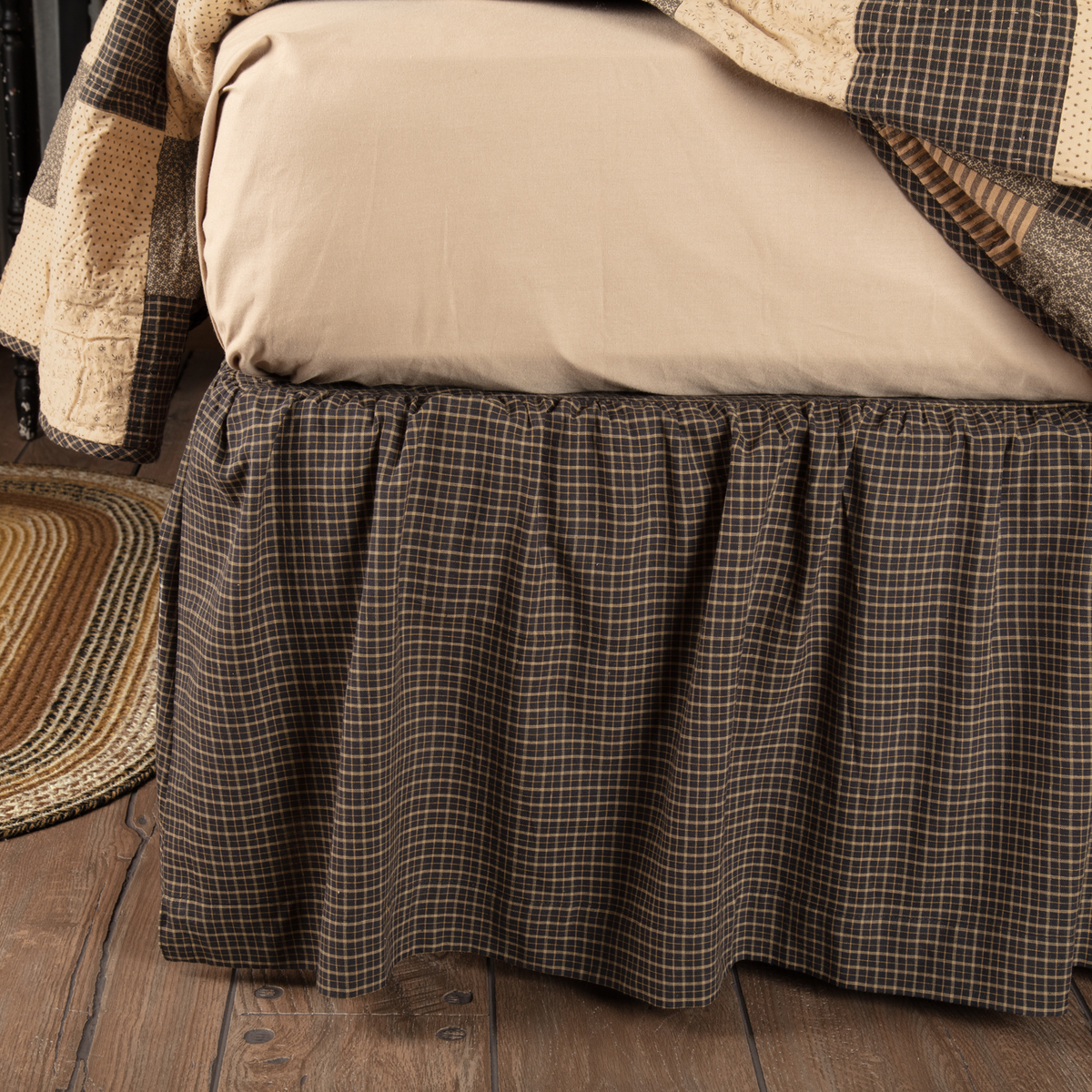 Kettle Grove Twin Bed Skirt 39x76x16 Allysons Place