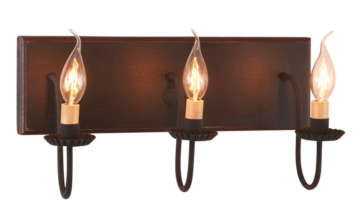 3-Arm County Vanity Light Bar - Allysons Place