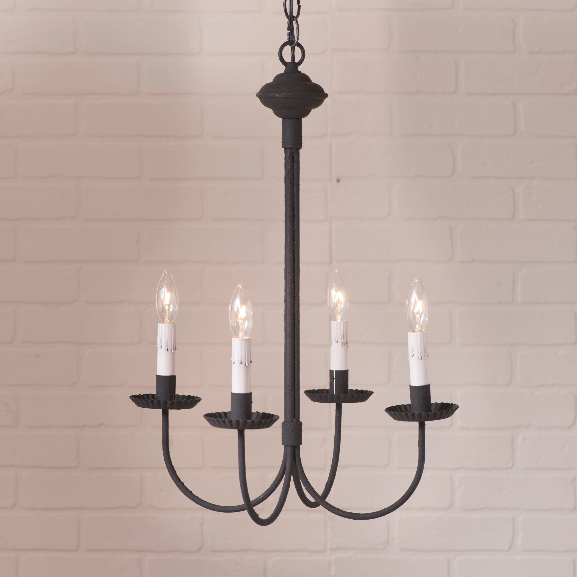 4 arm grandview chandelier with gray sleeves allysons place 4 arm grandview chandelier with gray sleeves aloadofball Choice Image