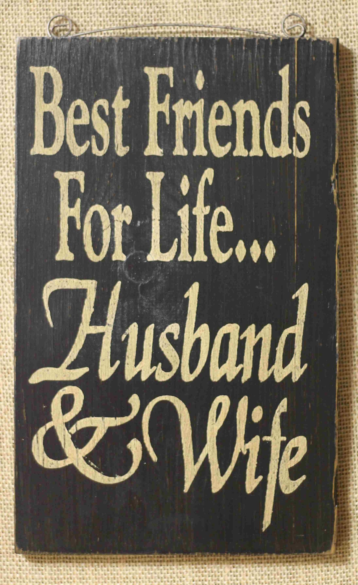 best friends for life sign black allysons place