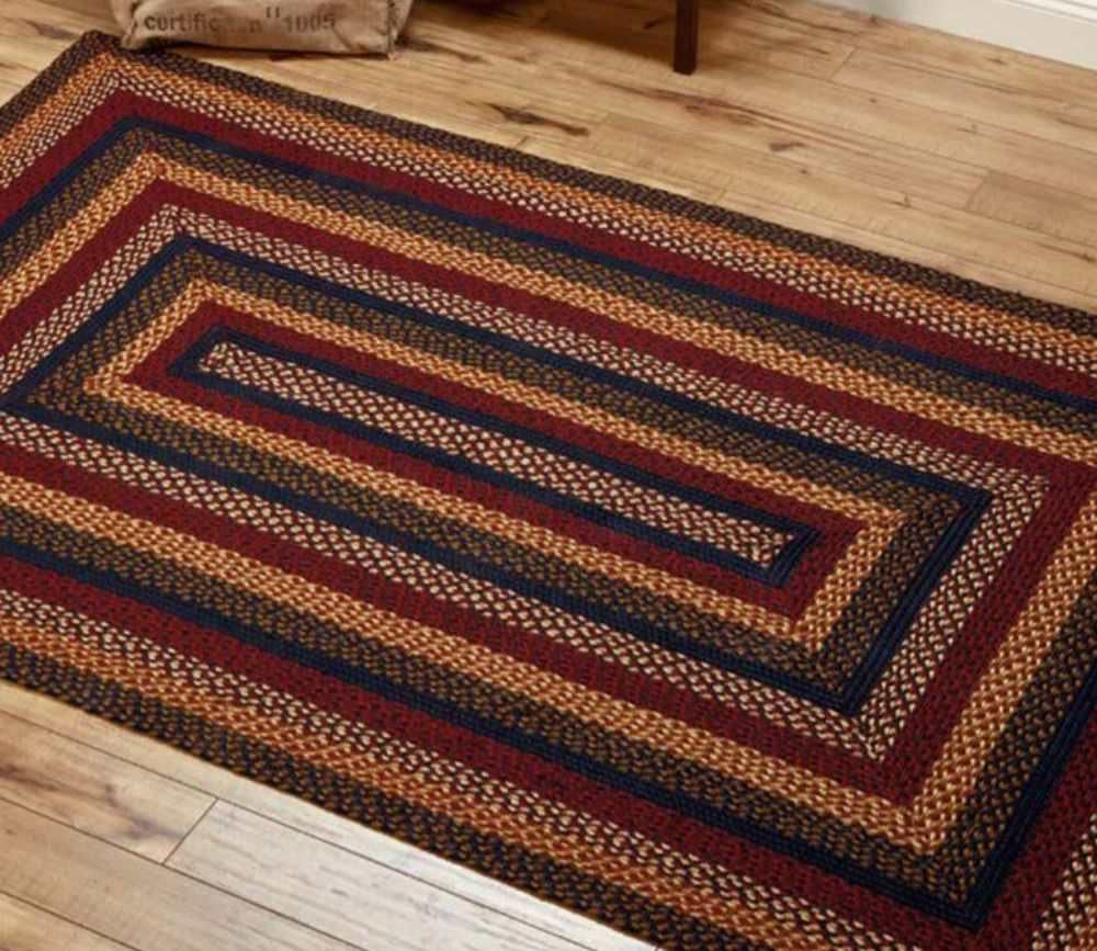 Blueberry Jute Braided Rug Rectangle 8 X 10 Ft Allysons Place